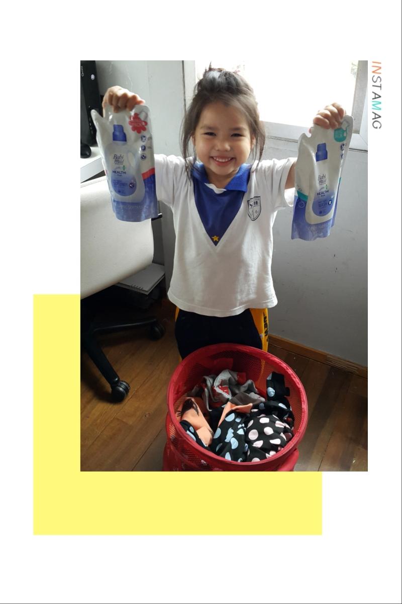 มาลองผลิตภัณฑ์ซักผ้าหอมๆสำหรับเด็กจากเบบี้มายด์กันค่า